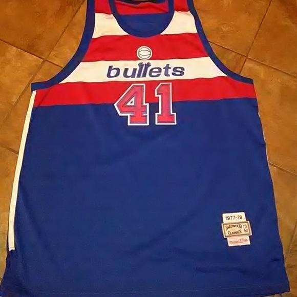 254e33497ce7 NBA Wes Unseld Washington Bullets jersey. M 5b0712ea61ca106542e1bca1